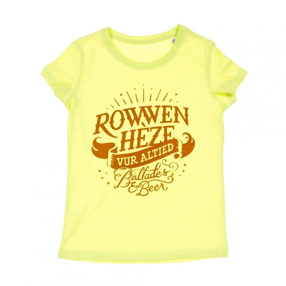 Rowwen_heze-_t-shirt_meisjes_geel