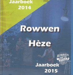 Jaarboek 2014-2015 front