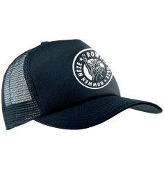 cap newskool logo zwart